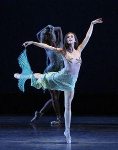 Lauren Lovette as the Mermaid in Wheeldon's...