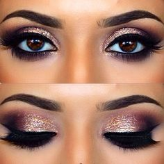 Eye make up. Eye make up. The post Eye make up. appeared first on Best Shared. Wedding Makeup For Brown Eyes, Best Wedding Makeup, Wedding Hair And Makeup, Hair Makeup, Wedding Nails, Makeup For Prom, Sparkle Wedding, Makeup For Brides, Bride Eye Makeup