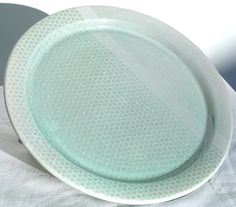 Dinner Plates, Blue Celadon Glaze
