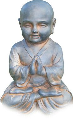 Young Buddha Praying Statue