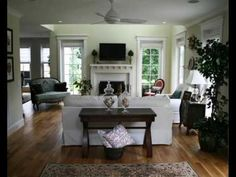 British Colonial Style Living Rooms