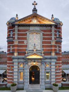 A former chapel has been resurrected as a 'rock 'n roll' restaurant in Antwerp, Belgium.