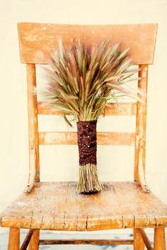 Umm, love this wheat bouquet.