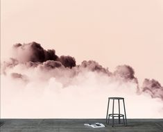 BLUSH Gradient Cloud Wallpaper available from Scandinavian Wallpaper & Decor. Image and cloud image by uber talented Photograher Jody D'Arcy Cloud Wallpaper, Wallpaper Decor, Scandinavian Wallpaper, Uber, Blush, Ocean, Clouds, Wallpapers, Sky