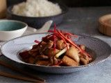 Cooking Channel serves up this Chicken Cooked in Ginger: Ga Ban Kho Gung recipe from Luke Nguyen plus many other recipes at CookingChannelTV.com