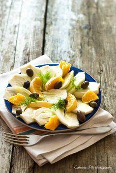 Insalata di finocchi arance e olive taggiasche  | #vegan #vegetarian