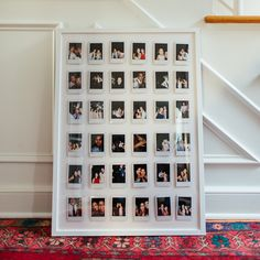 Polaroid Picture Display - The Urban Interior - Fushion News Polaroid Pictures Display, Polaroid Picture Frame, Polaroid Display, Polaroid Frame, Polaroid Collage, Instax Frame, Polaroid Decoration, Cute Room Decor, Easy Diy Room Decor