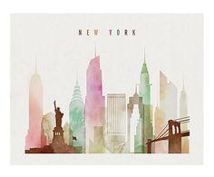 Affiche NEW YORK - 29*21