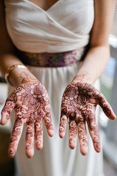 Вдохновение для невест: восточное искусство росписи мехенди - The-wedding.ru
