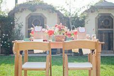 Fiesta de la fresa en el jardín
