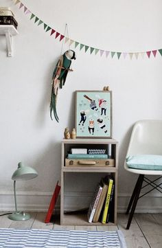 Via Michellecarlslundshop When we think about the  decorations of the children's room we use to consider it as a whole but, sometimes, we fall in love with a spe