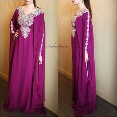 (1) KAFTAN NADIYA – MADINA PARIS Butterfly Shape, Madina, C'est Bon, Hoodie Jacket, Body Types, Evening Gowns, Paris, Formal Dresses, Belt