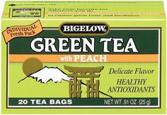 Peach Green Tea - Bigelow
