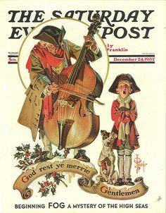 The Saturday Evening Post (December 24, 1932) by J.C. Leyendecker