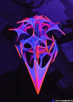 MURANO by fluorostructure // psydeco fluoro structure festivals psytrance #fluorostructure
