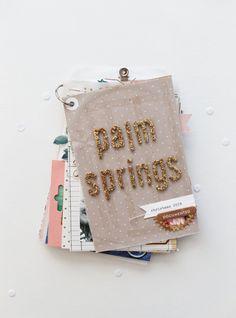 Maggie Holmes Design blog #minialbum #scrapbook