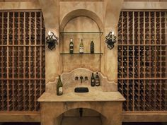 Homes With Fabulous Wine Cellars