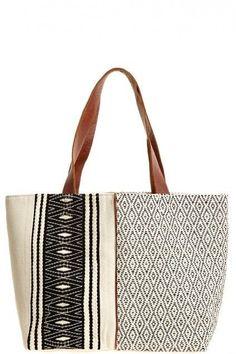 Emilia Cotton Tote by Mercado Global
