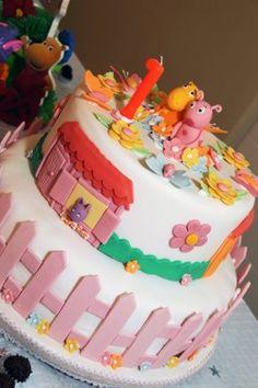 bolo de aniversário 1 ano desenho