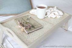 Breakfast in Bed Tray from So Much Better with Age