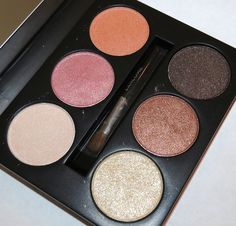 Lancome Pink Safari Eye Shadow Palette... click through for swatches, review and eye look!!