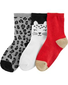Hello Kitty Baby and Girls Stripes and Dots Cotton Short Crew Socks 5 Pairs Pack