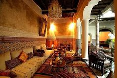 Moroccan décor