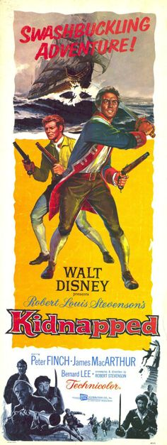 Kidnapped Disney Movie Poster