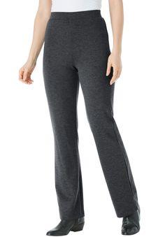 04674cb85d515 Bootcut Ponte Stretch Knit Pant