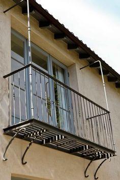 exterior iron railing / juliet balcony contender for my master bedroom balcony addition idea