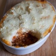 Shepherd's Pie with Olives and Feta Mash