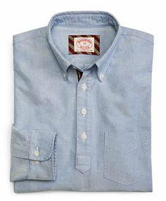 Brooks Brothers Popover Sport Shirt