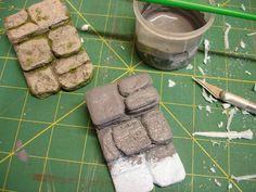 Tutorial on Making stone steps dollhouse/Miniature Z Miniature Crafts, Miniature Fairy Gardens, Miniature Houses, Art Bio, Vynil, Fairy Village, Kobold, Fairy Furniture, Fairy Garden Accessories