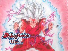 Como dibujar a GOKU SUPER SAIYAN GOD KAIOKEN. How to draw GOKU Ssj blue KAIOKEN. Dragon ball super - YouTube