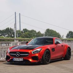 A little surprise find yesterday was this awesome AMG GTs by @priordesign  ________________________________ Member of @teamwolcars  Part of @thesupercarsquad  Owner of @supercarsdaily700  ________________________________