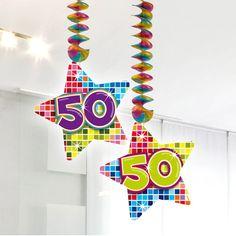 Afmeting: 75 x 12 cm - Hangdecoratie Blocks 50