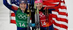 team usa wins their first ever women's cross country skiing gold medal | Us wins first olympic gold medal in women's cross-country skiing - scoopnest.com