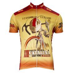 Retro 1943 Cataluna Cycling Jersey   Freestylecycling.com