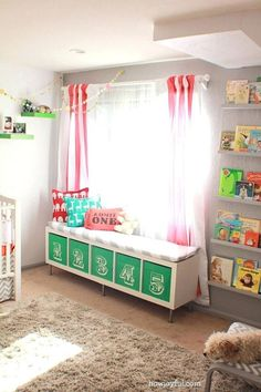 Clever Toys Storage Organization Ideas To Make Kids Room Stay Tidy (7)