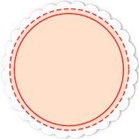 free digital and printable scalloped tags - ausdruckbare Etiketten - freebie | MeinLilaPark – DIY printables and downloads