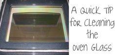 Oven glass header
