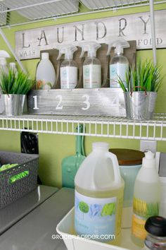 Tips for Organizing The Laundry Room - Graceful Order