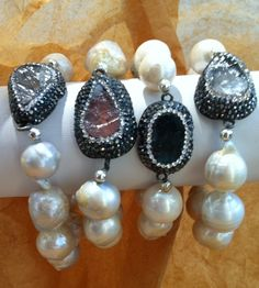 Be perfect in these pearl bracelets!