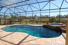 my ideal house would definitely have to have an indoor/outdoor pool