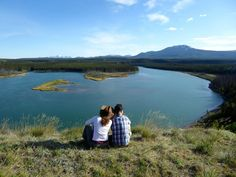 A local favorite spot to break and admire the views when paddling the Yukon River. Yukon River, Coast, Canada, Explore, Mountains, Country, Travel, Beautiful, Viajes