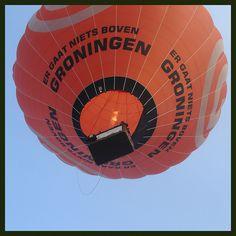 Er gaat iets boven Groningen.