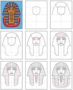 History Of Wine, Ap World History, Ancient History, Art History Memes, Art History Lessons, Egyptian Drawings, Ancient Egyptian Art, Egypt Crafts, The Boy King