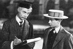 "Robert Donat (left) in ""Goodbye, Mr. Chips"" (1939)"
