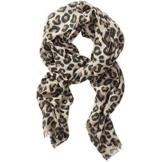 Wilfred ÉTOILE SCARF Aritzia ($68) ❤ liked on Polyvore featuring accessories, scarves, wool scarves, leopard print shawl, wool shawl, leopard shawl and wilfred