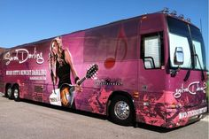 My beautiful Tour Bus took me across the country this summer!